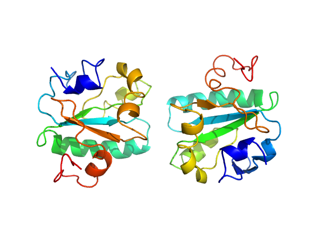 Tryparedoxin PDB model
