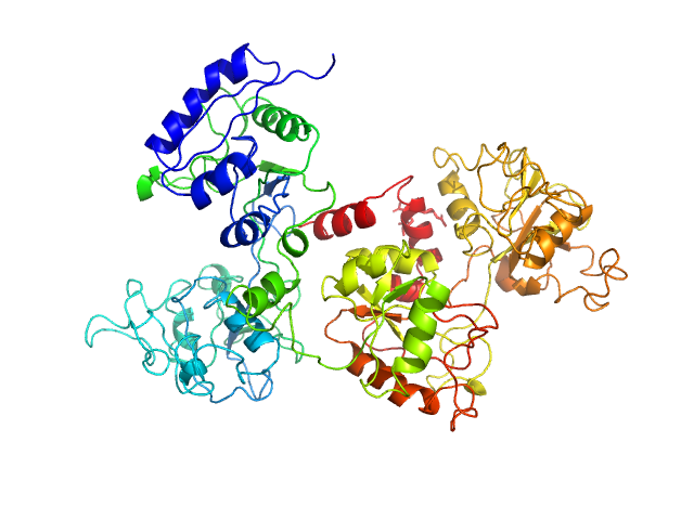 Ovotransferrin PDB model