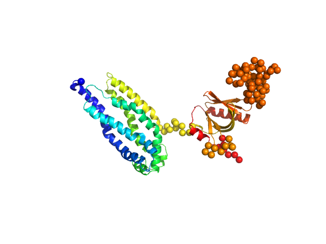 BCR-ABL p210 fusion protein (DH-PH) EOM/RANCH model